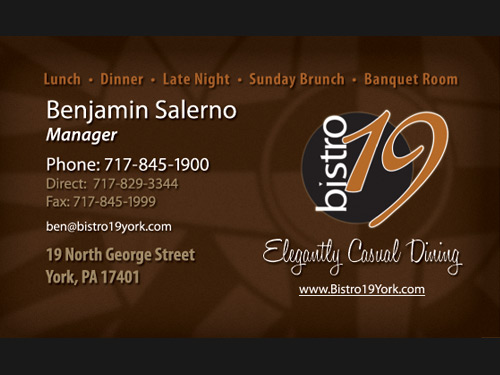 Bistro 19 business card cdf design httpcdf designsitewp content reheart Image collections